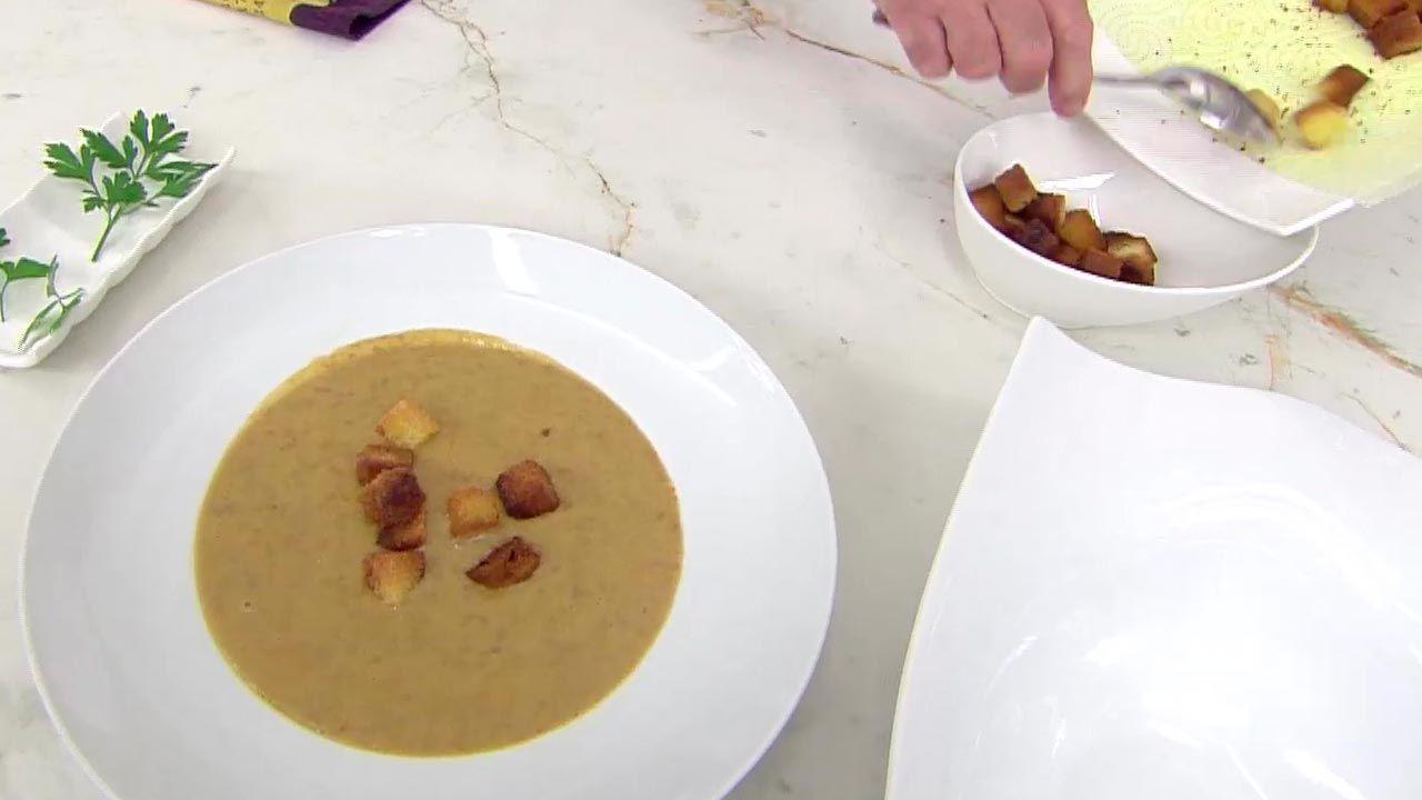 Sopa de lentejas con verduras