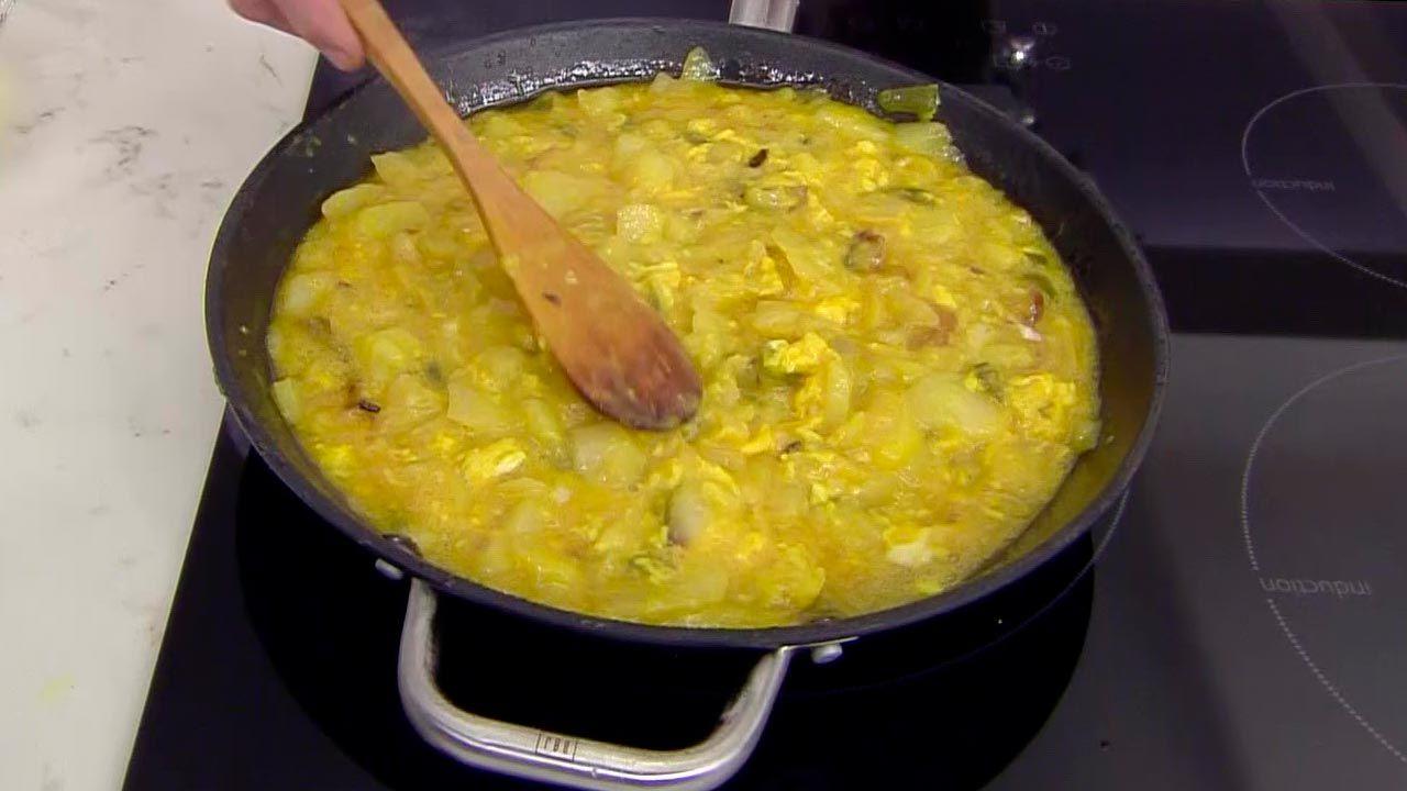Tortilla de patata a la navarra