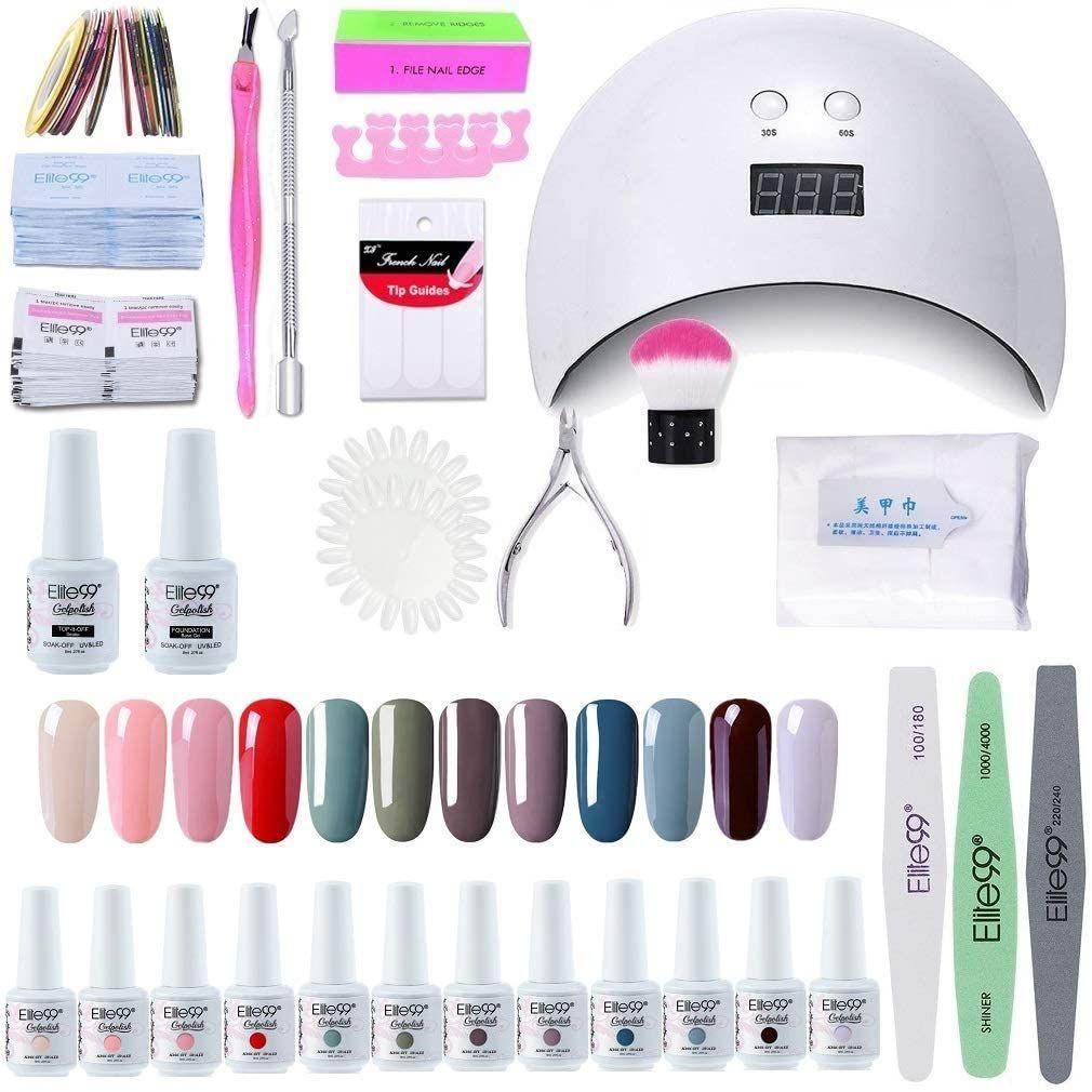 kit para hacerte las uñas de gel en casa