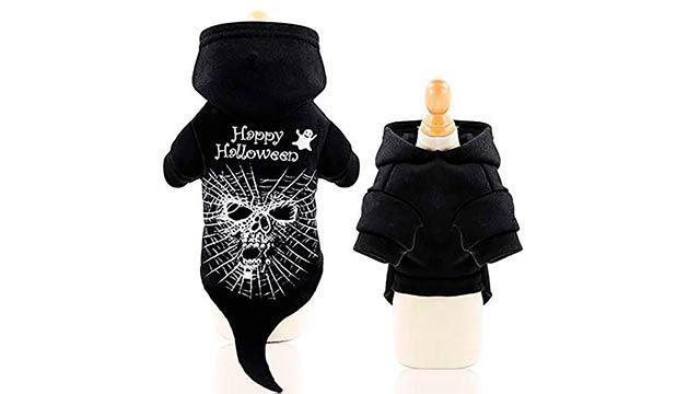Sudadera negra Happy Halloween