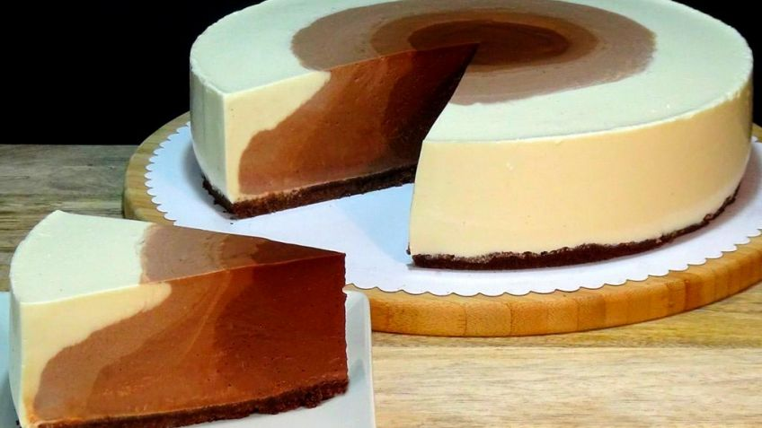 Tarta de queso con chocolate - ¡Exquisita e irresistible!