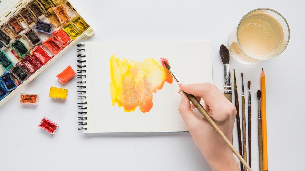 6 trucos para pintar con acuarelas y que no sea un desastre
