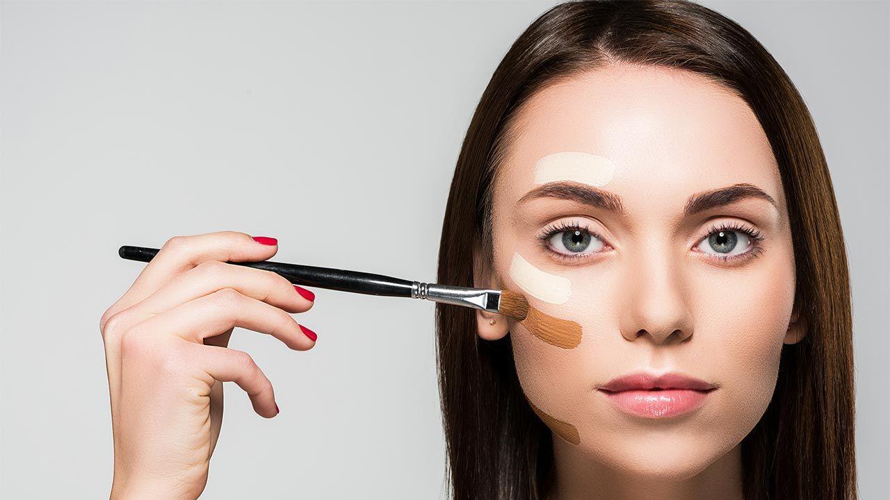 brochas de maquillaje para aplicar base
