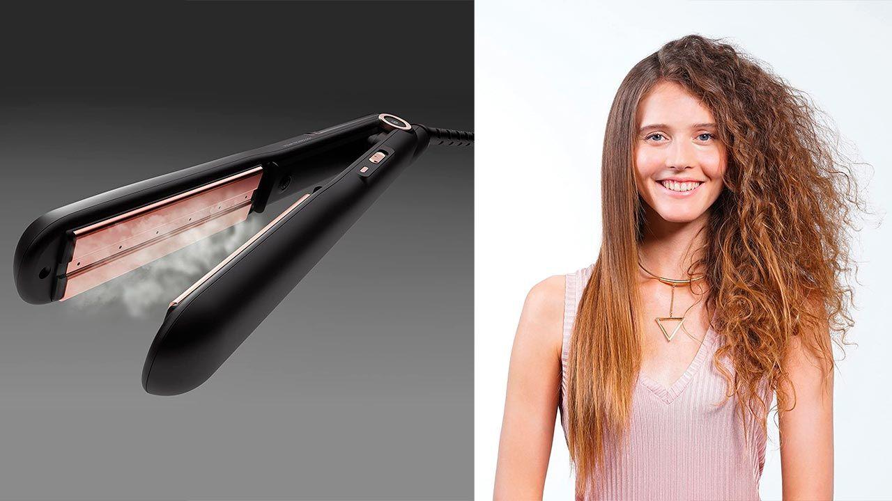 planchas de pelo profesionales con tecnología vapor