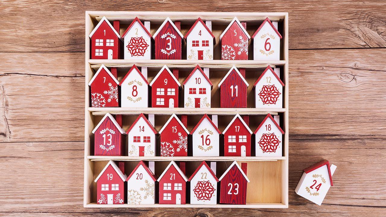 calendarios de adviento de Navidad