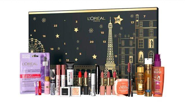 calendario de adviento 2020 de maquillaje de L´Oreal