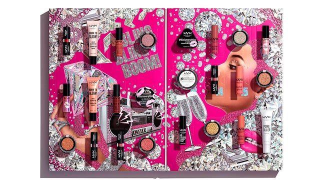 Calendario de adviento 2020 de maquillaje Maybelline