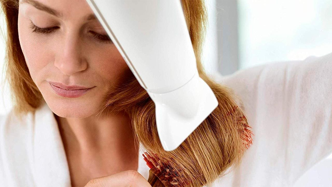 cómo usar bien el secador de pelo