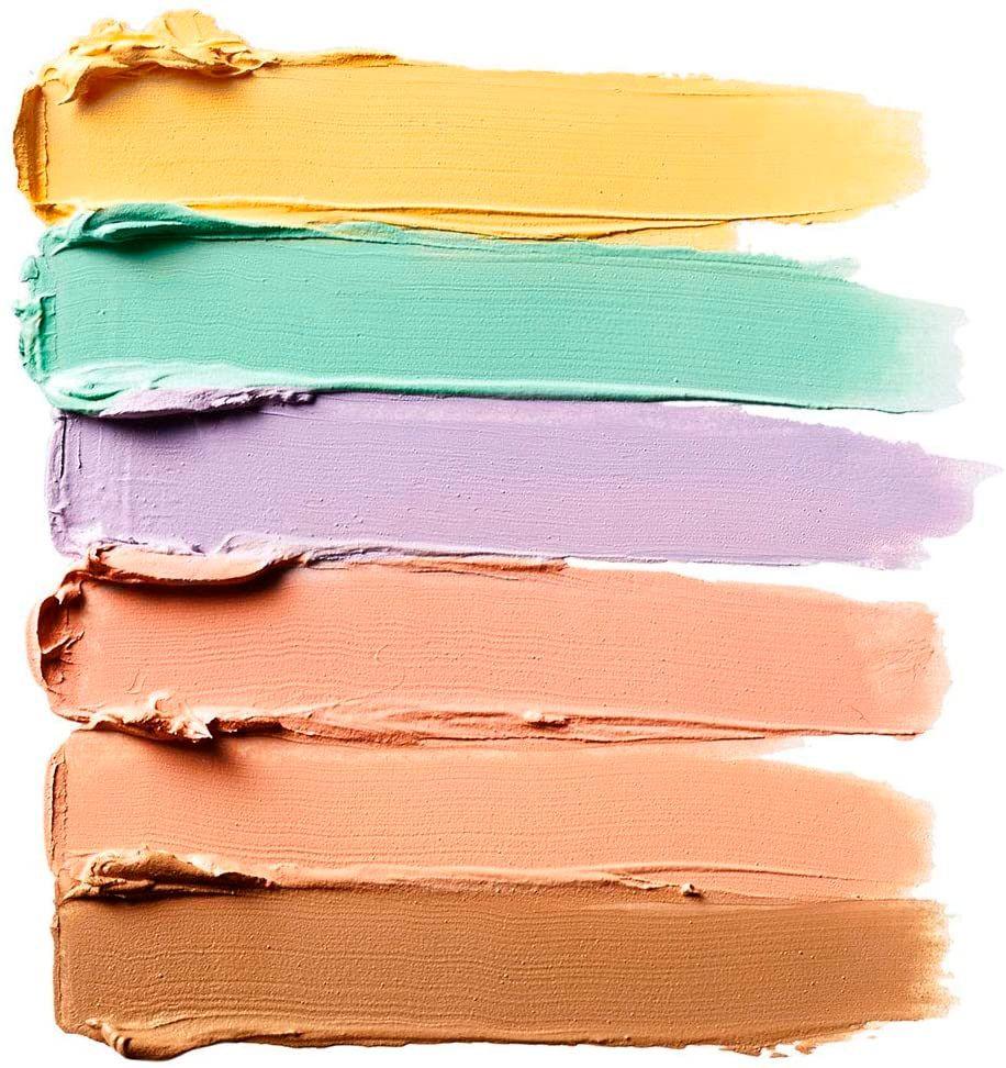 maquillaje corrector de colores