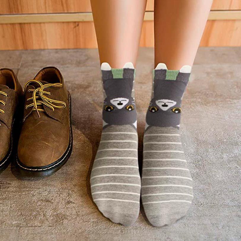 regalos para amantes de los animales - calcetines de gatitos