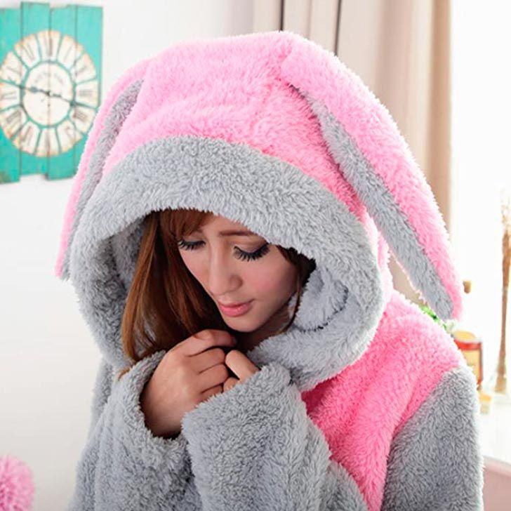 regalos de belleza para los amantes de los animales - bata con capucha