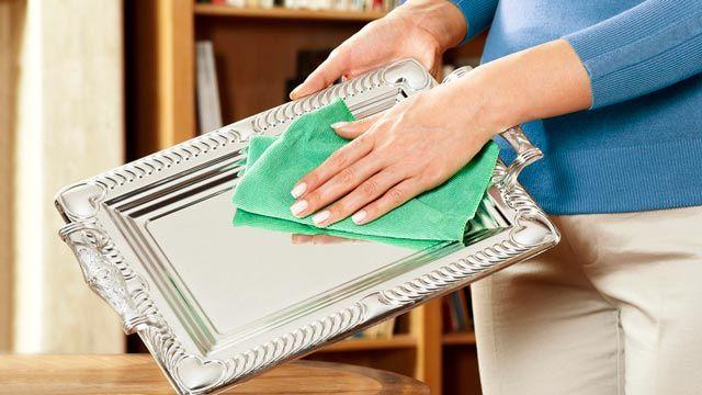 Cómo limpiar la plata en casa fácilmente