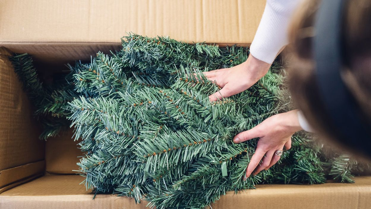 Cómo limpiar el árbol de navidad