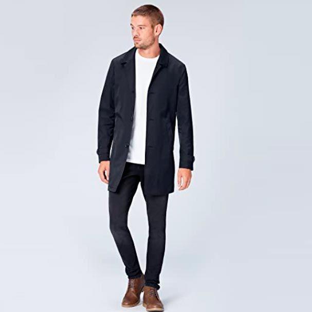 moda masculina gabardinas para hombres