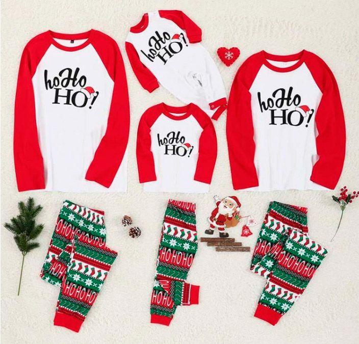 pijamas navideños de familia