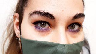maquillaje de ojos para mascarillas - paso 4