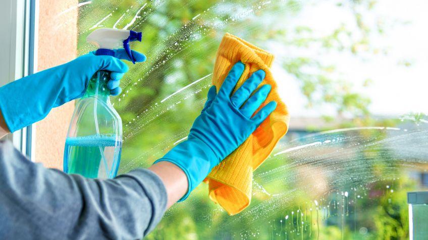 Cómo limpiar ventanas y cristales