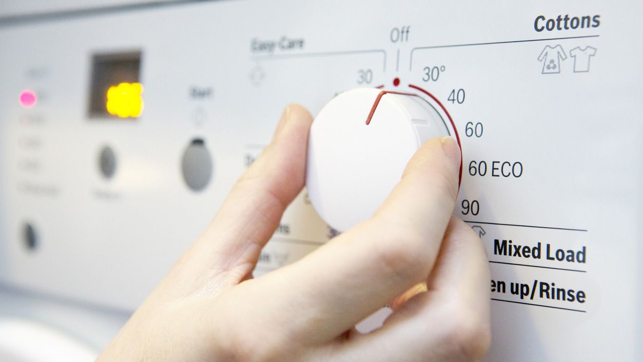 temperatura de lavado en lavadoras