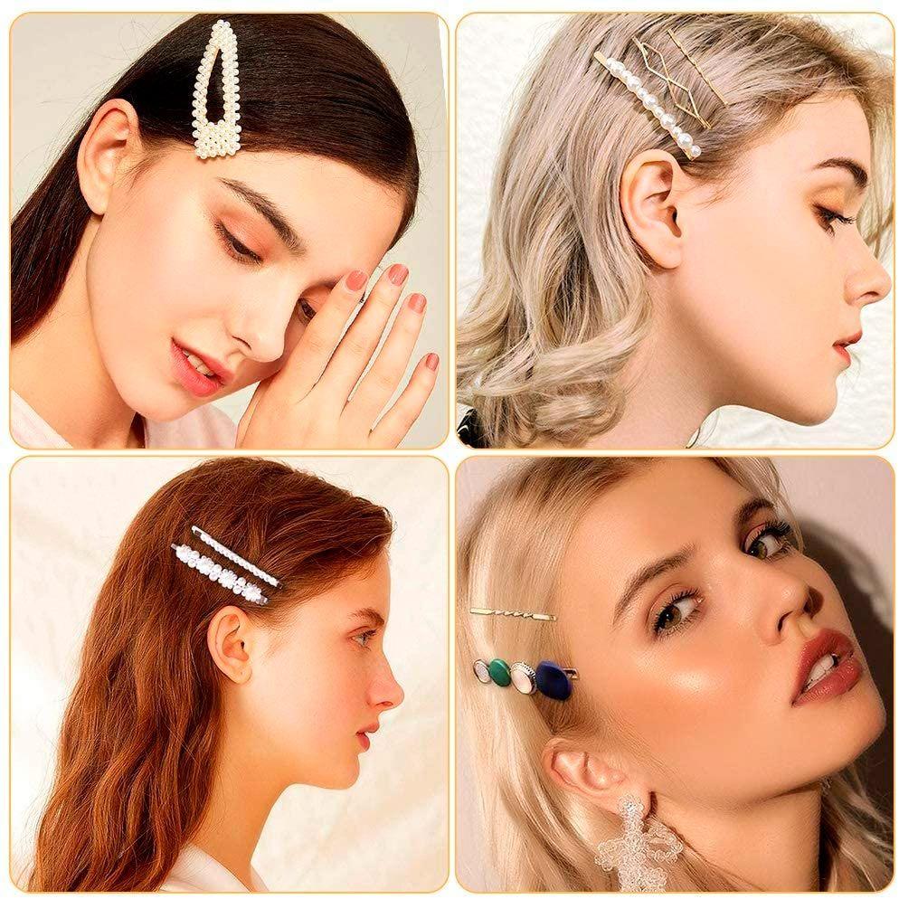 Pasadores de pelo para peinados de fiesta