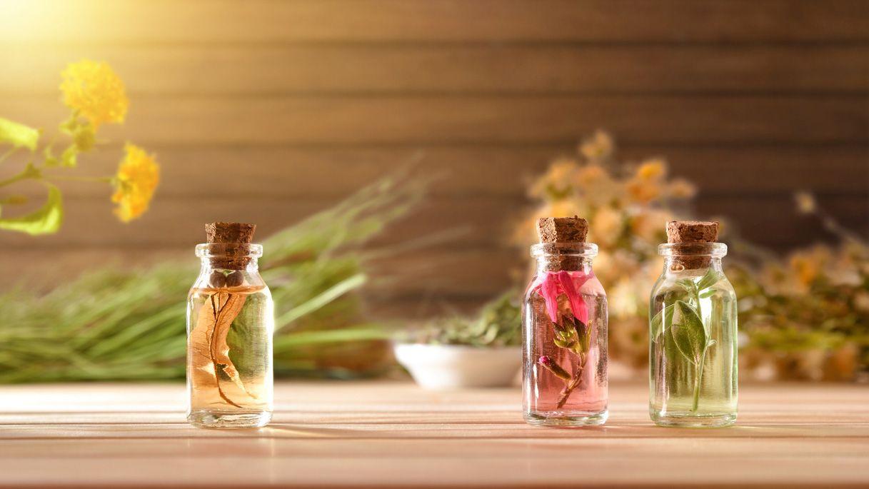 Reutilizar botes de perfumes