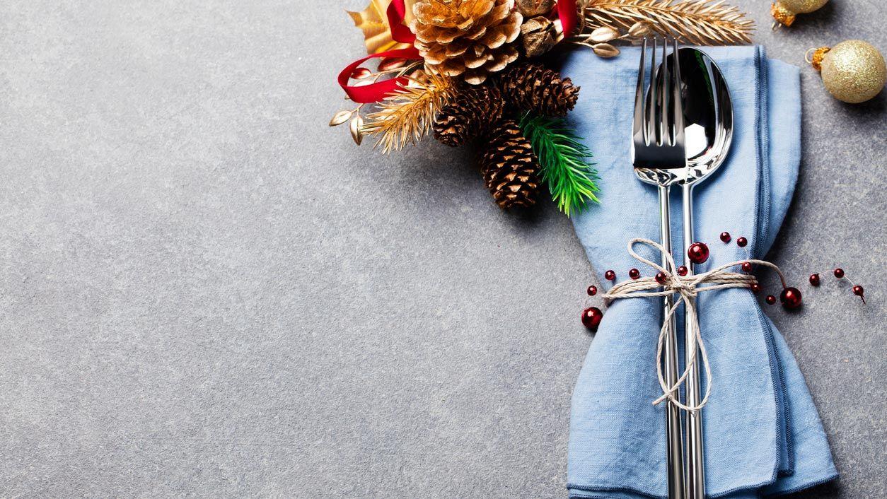 Ideas para decorar la mesa en Navidad - Decorar las servilletas
