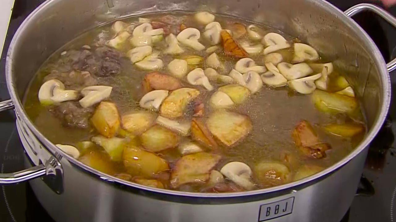 Ossobuco guisado con patatas