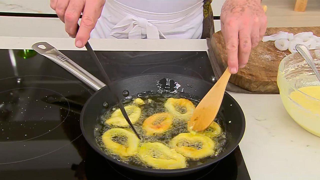 Rabas con salsa picante por Karlos Arguiñano - paso 3