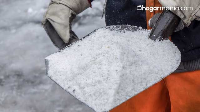 Limpiar con sal