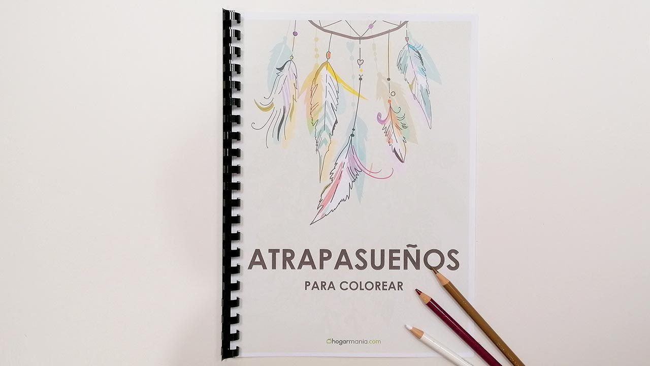 Atrapasueños para colorear, ¡consigue tu propio cuaderno gratis!