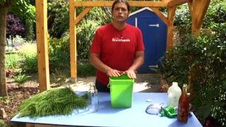 Insecticida ecológico con cola de caballo