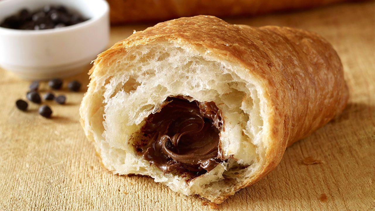 Cómo hacer croissants rellenos