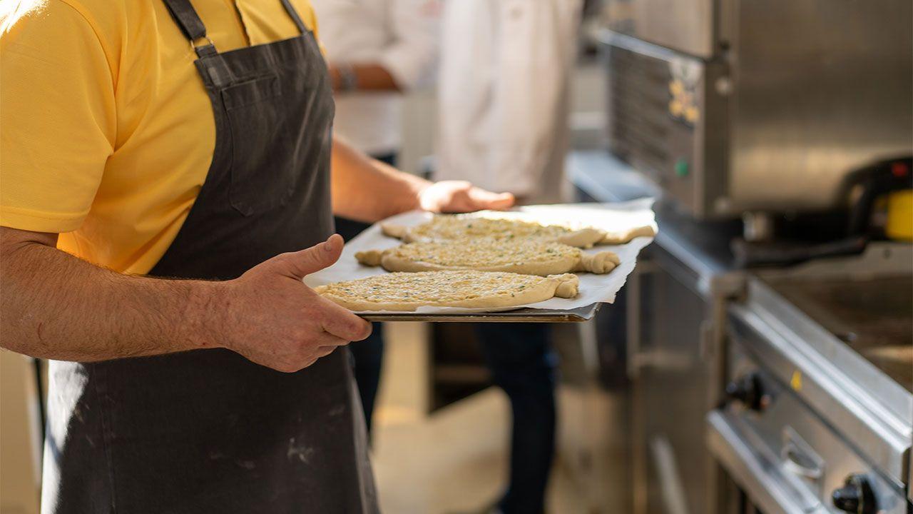 Khachapuri, el pan de queso Georgiano - paso 4