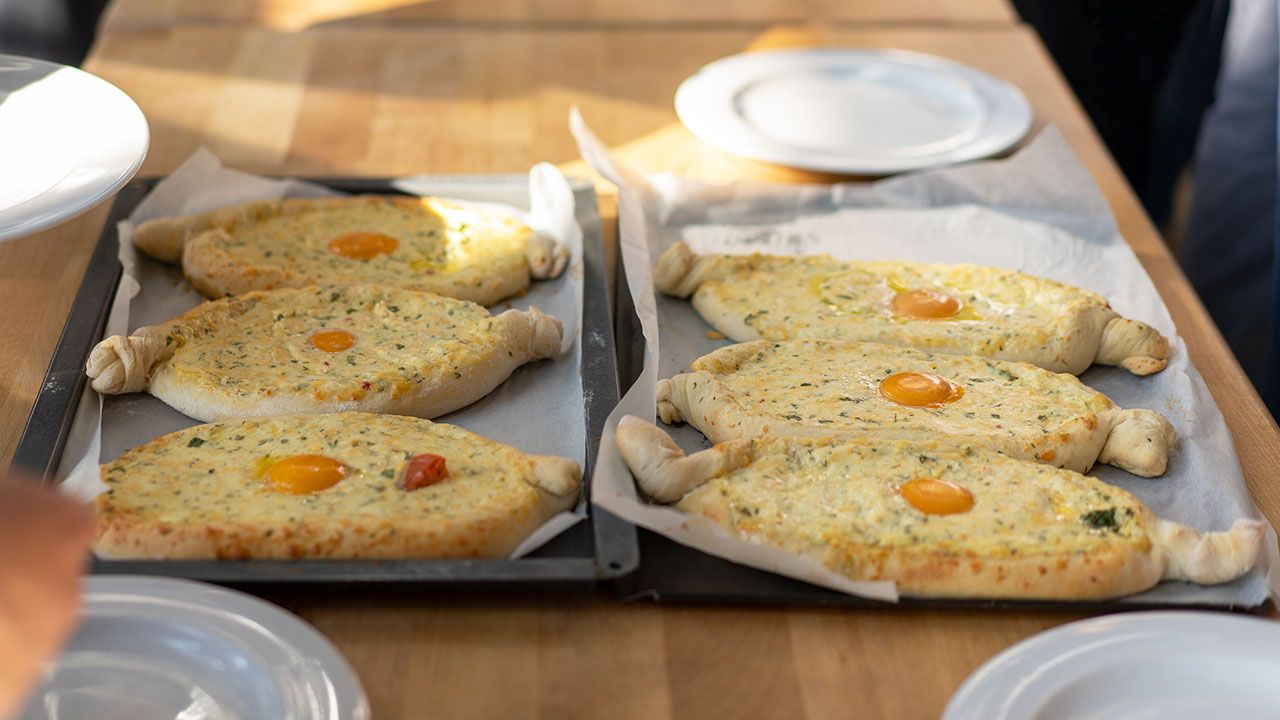 Khachapuri, el pan de queso Georgiano - paso 5