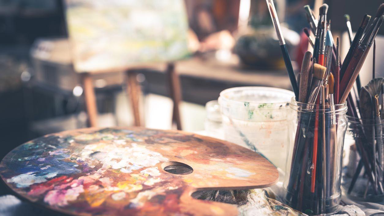 Disolventes para pintar con oléo
