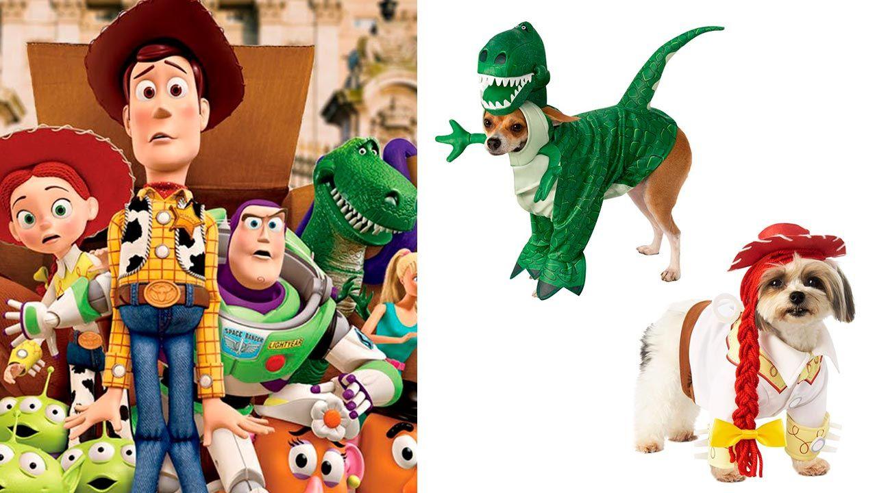 Disfraces de Toy Story para mascotas