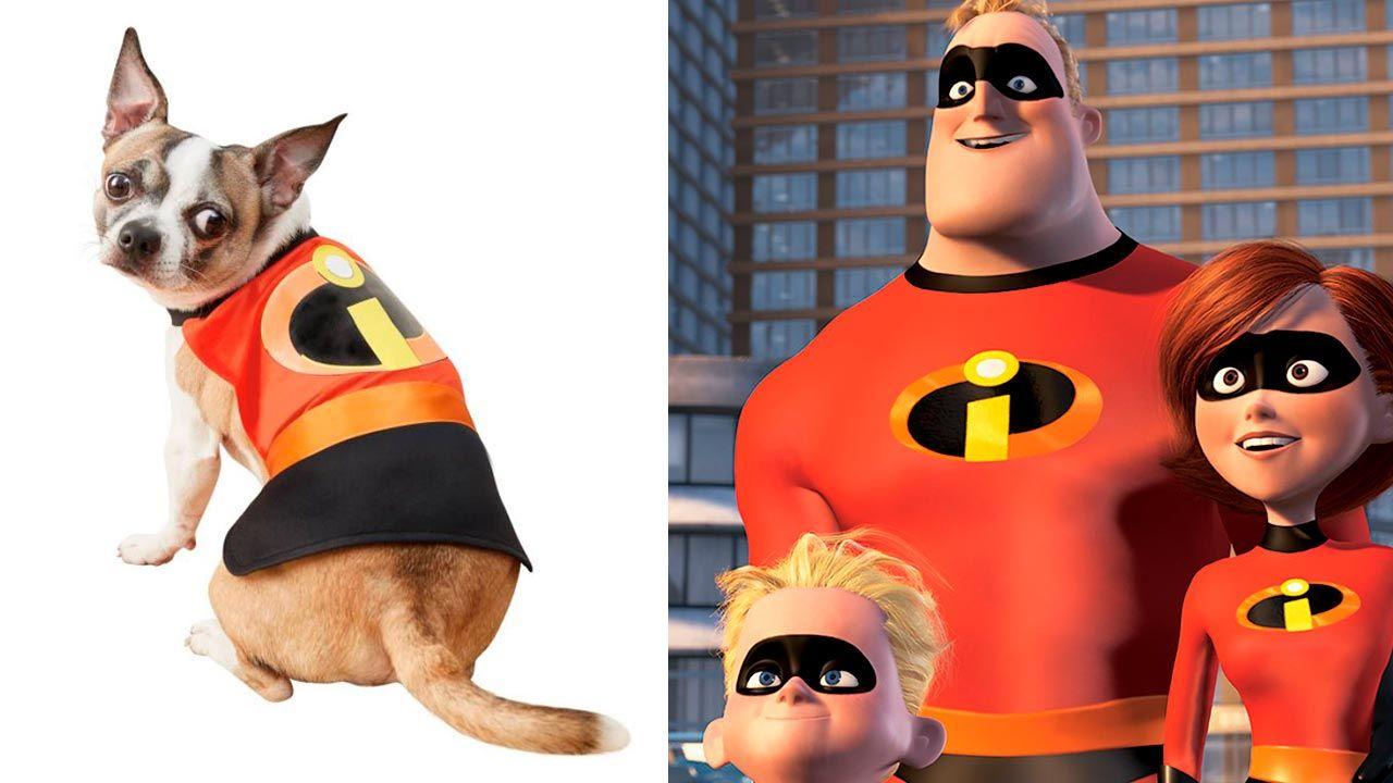 Disfraz de Los Increíbles para mascotas