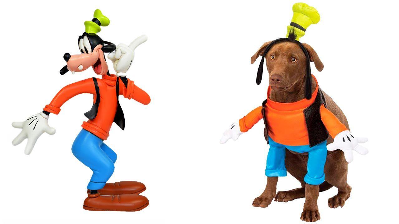 Disfraz de Goofy para mascotas