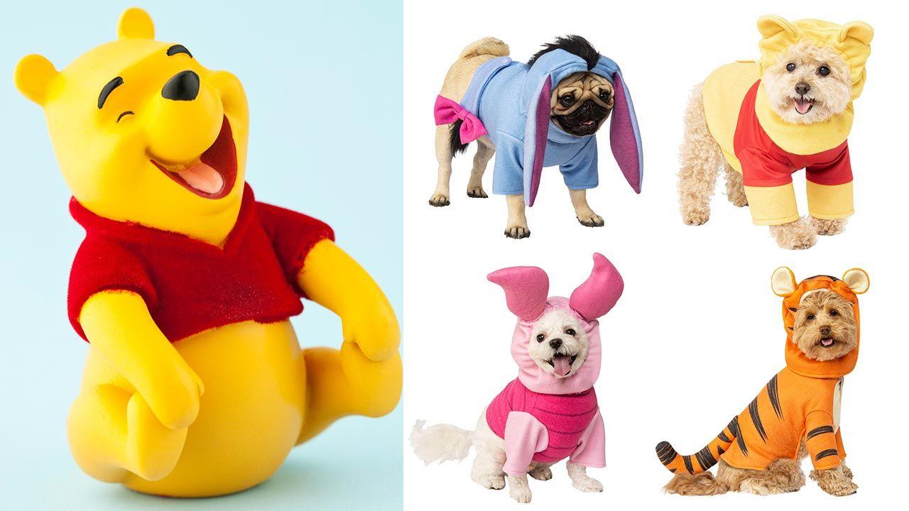 Disfraces de Winnie de Poo para mascotas