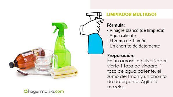 Limpiar encimera con vinagre