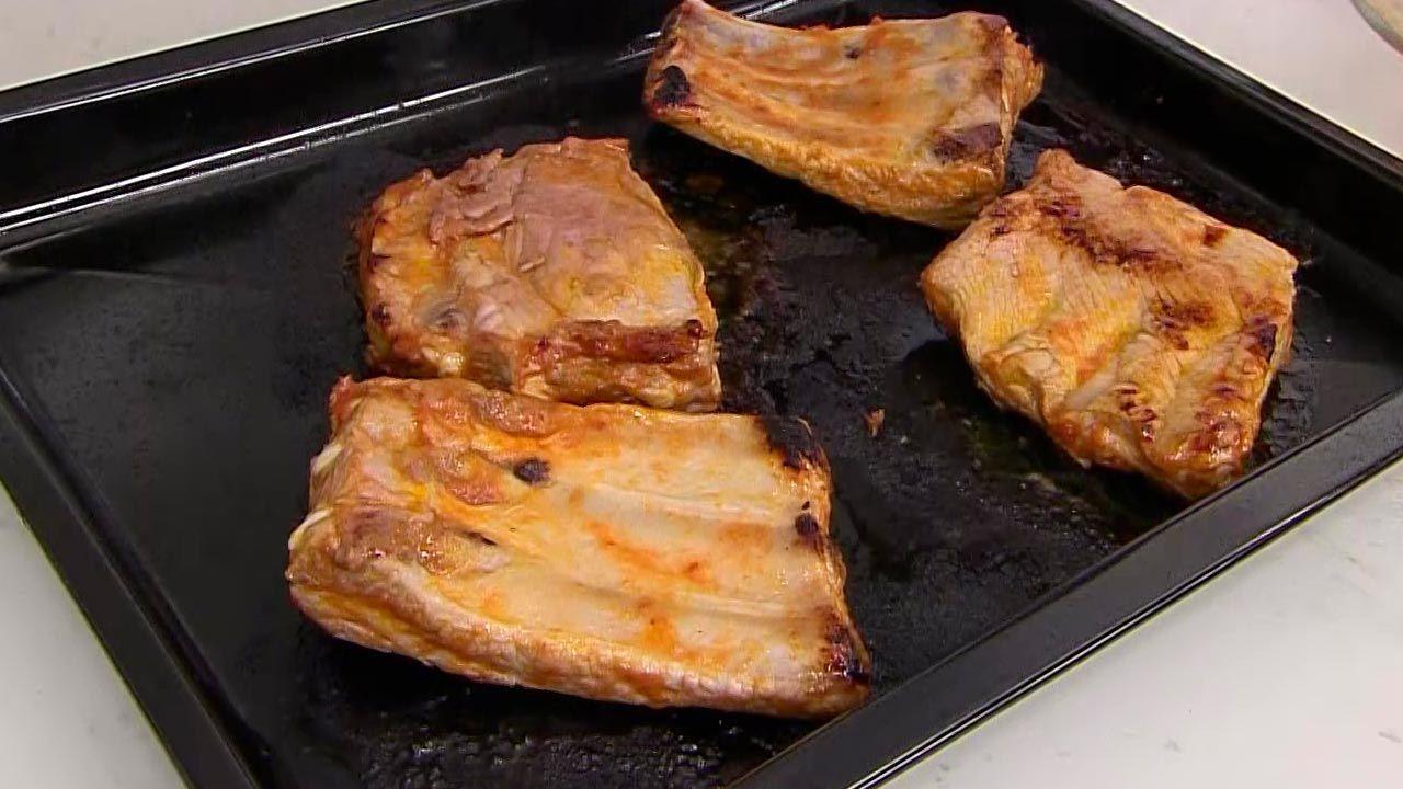 Costilla de cerdo asada