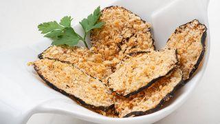 receta de calabacín crujiente al horno