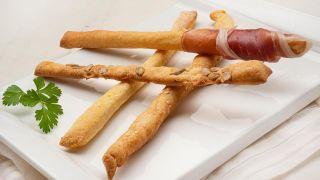 grisines o palitos de pan italiano