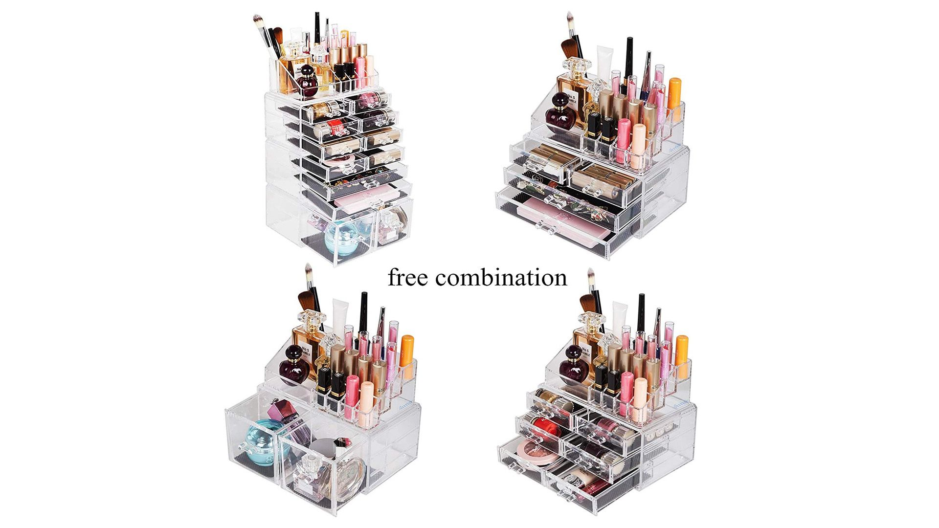 El mejor organizador de maquillaje