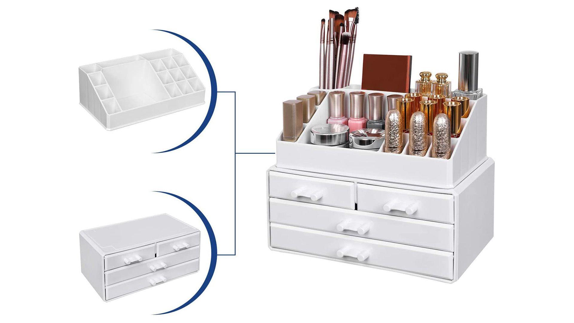 Mejor organizador de maquillaje