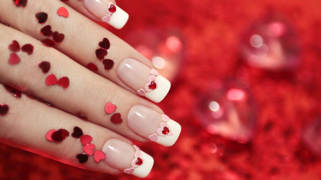 Ideas de manicura para San Valentín