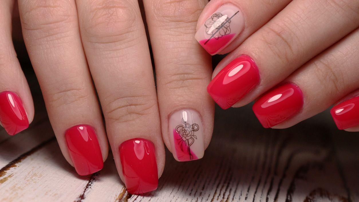 Ideas manicura San Valentín