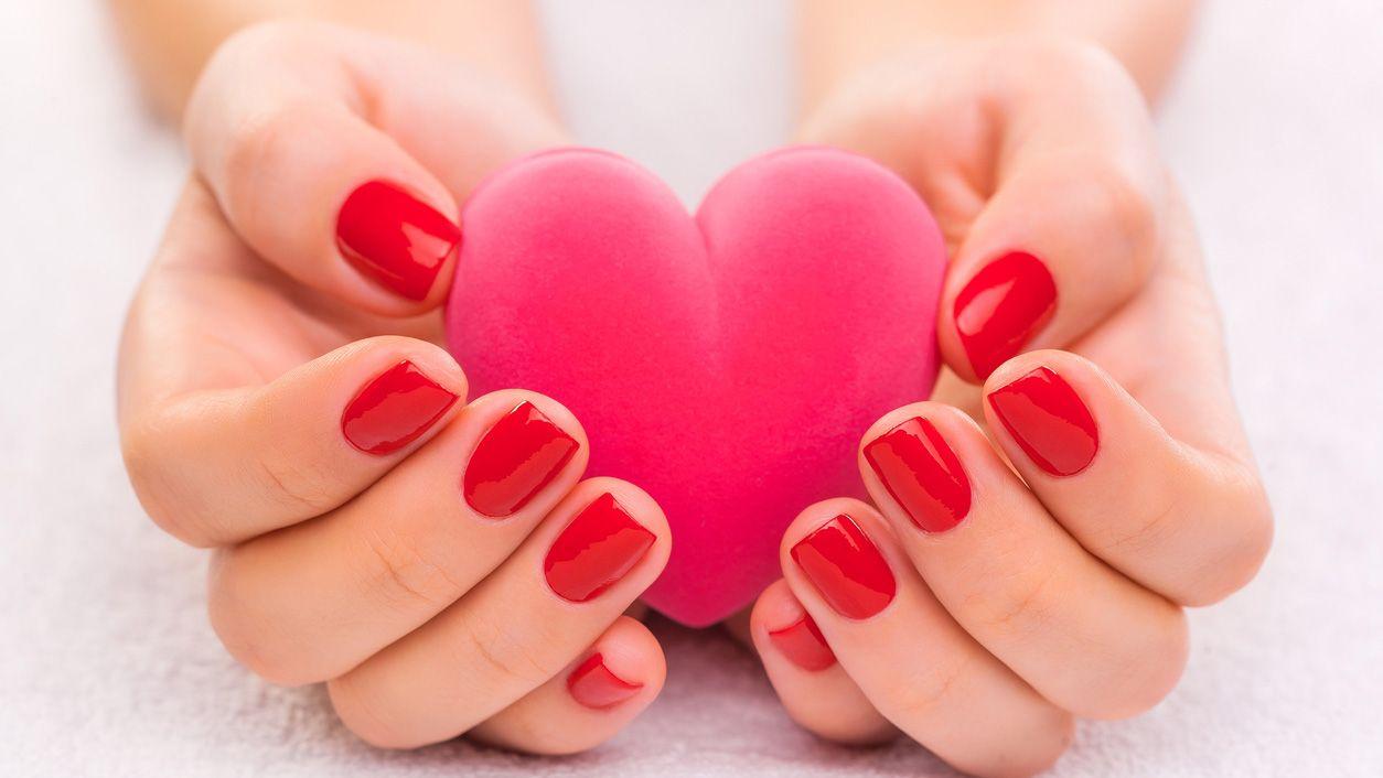 manicura sexy san valentín