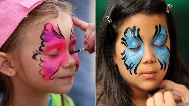 Cómo pintar cara niños