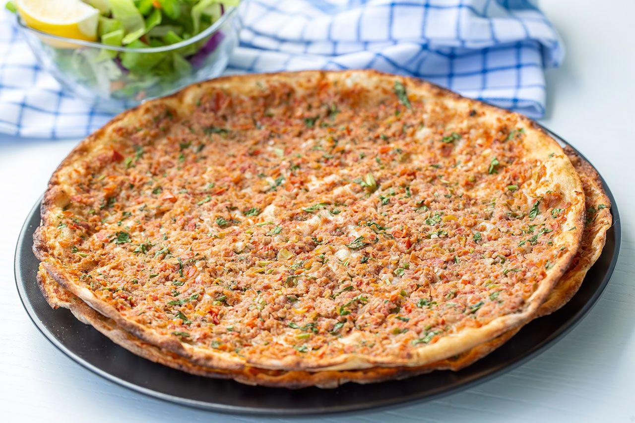Lahmacun, ¡la pizza turca tradicional! - Presentación