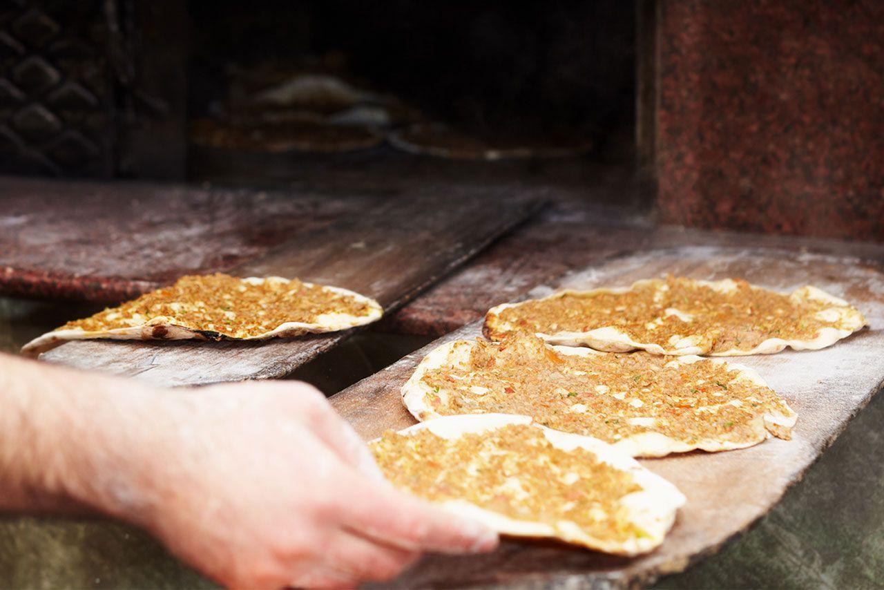Lahmacun, ¡la pizza turca tradicional! - paso 3